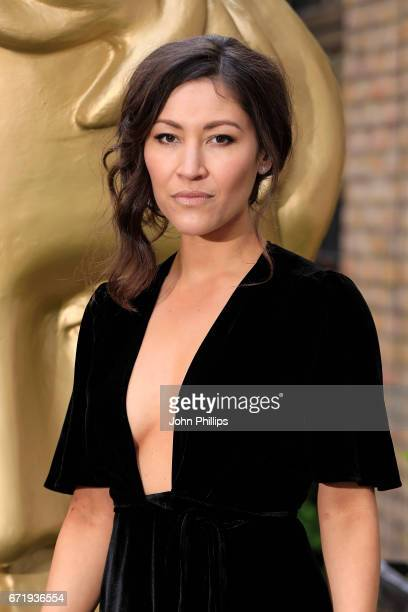 Eleanor Matsuura attends the British Academy Television Craft Awards on April 23 2017 in London United Kingdom