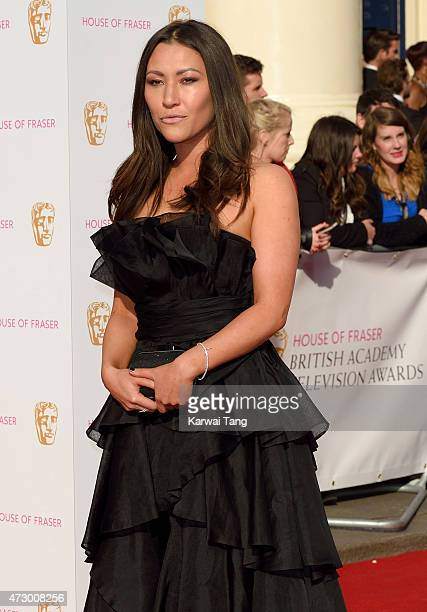 Eleanor Matsuura attends the House of Fraser British Academy Television Awards at Theatre Royal on May 10 2015 in London England
