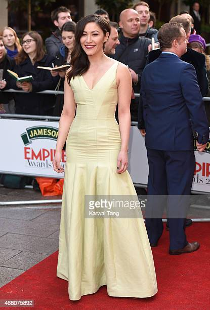 Eleanor Matsuura attends the Jameson Empire Awards 2015 at Grosvenor House on March 29 2015 in London England