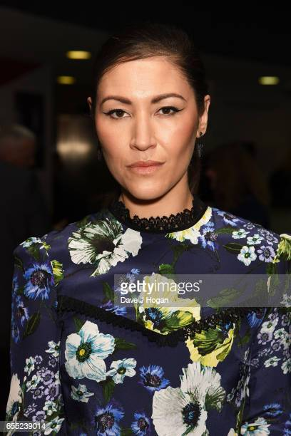 Eleanor Matsuura attends the THREE Empire awards at The Roundhouse on March 19 2017 in London England
