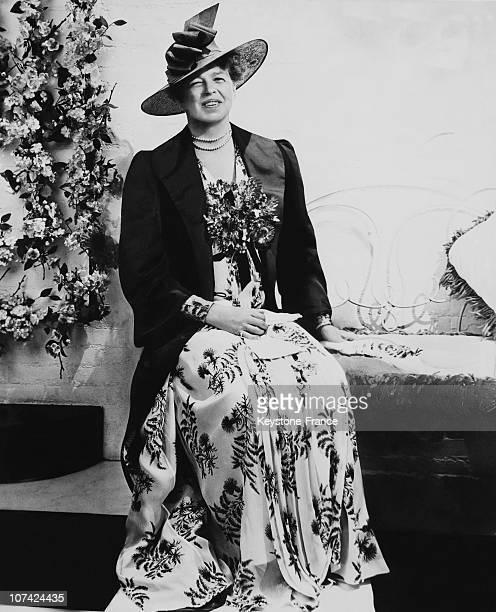 Eleanor Roosevelt In New York On June 1939