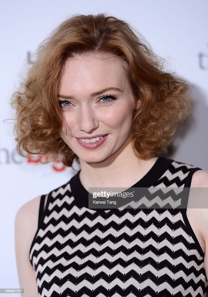 Eleanor Tomlinson attends a special screening of 'The Big Wedding' at May Fair Hotel on May 23, 2013 in London, England.