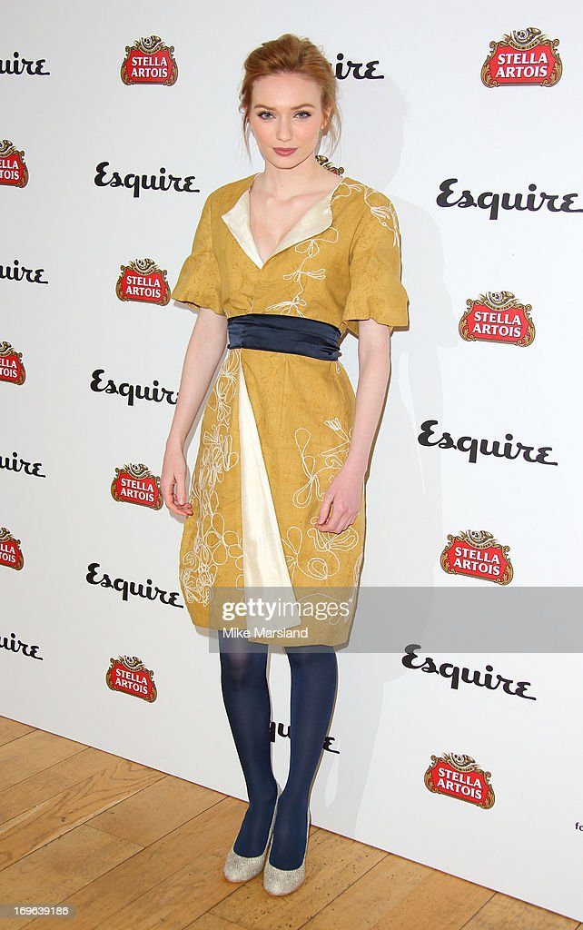 Eleanor Tomlinson attends Esquire magazine's summer party at Somerset House on May 29, 2013 in London, England.