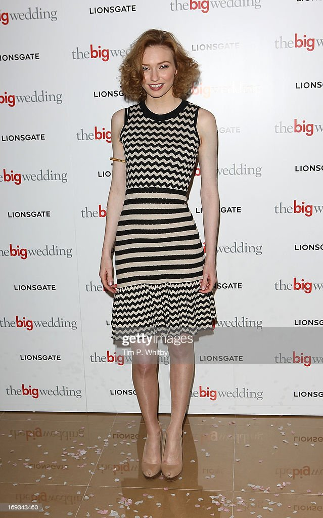 Eleanor Tomlinson attends Special screening of 'The Big Wedding'>> at May Fair Hotel on May 23, 2013 in London, England.