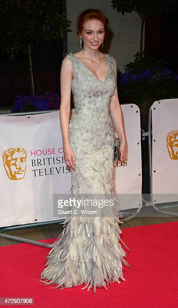 Eleanor Tomlinson attends the After Party dinner for the House of Fraser British Academy Television Awards at The Grosvenor House Hotel on May 10...