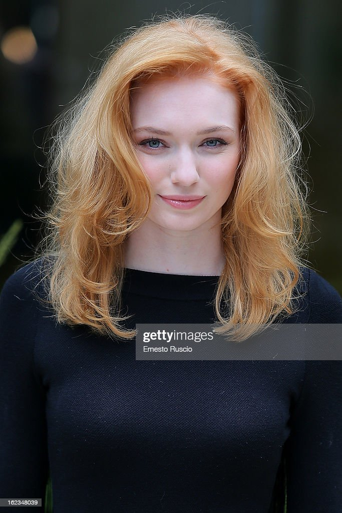 Eleanor Tomlinson attends the 'Educazione Siberiana' photocall at Hotel Visconti Palace on February 22, 2013 in Rome, Italy.