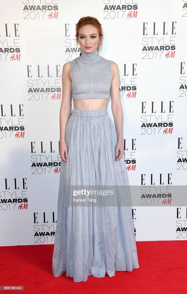 Eleanor Tomlinson attends the Elle Style Awards 2017 on February 13, 2017 in London, England.
