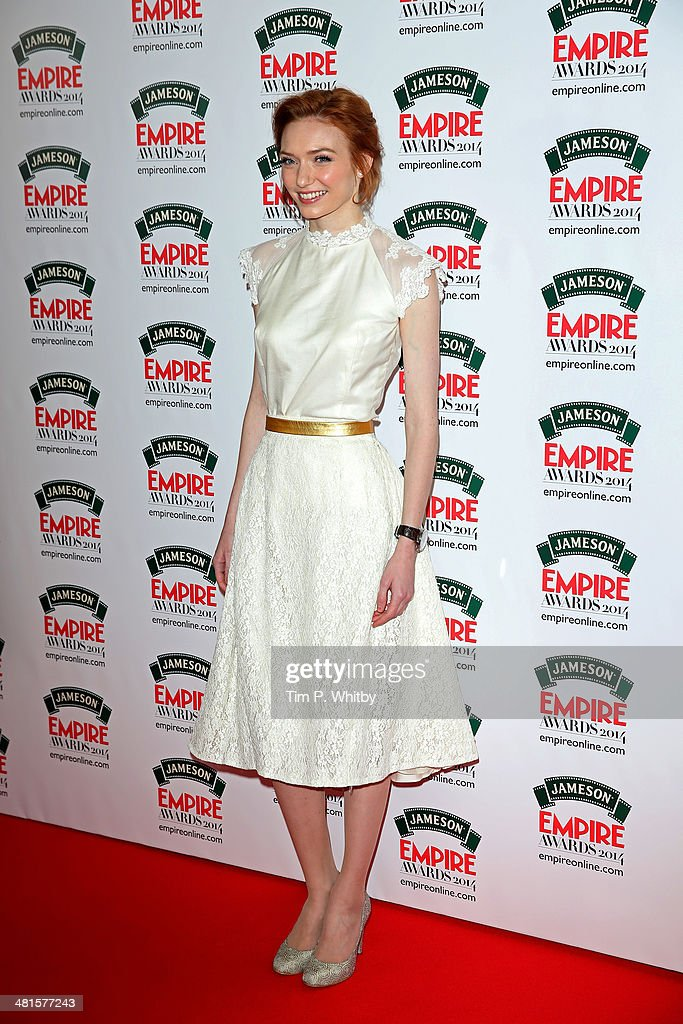 <a gi-track='captionPersonalityLinkClicked' href=/galleries/search?phrase=Eleanor+Tomlinson&family=editorial&specificpeople=2649367 ng-click='$event.stopPropagation()'>Eleanor Tomlinson</a> attends the Jameson Empire Awards 2014 at the Grosvenor House Hotel on March 30, 2014 in London, England. Regarded as a relaxed end to the awards show season, the Jameson Empire Awards celebrate the film industry's success stories of the year with winners being voted for entirely by members of the public. Visit empireonline.com/awards2014 for more information.