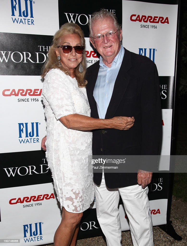 Eleanora Kennedy and Michael Kennedy attend 'The Words' screening at Goose Creek on August 25, 2012 in East Hampton, New York.