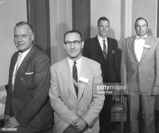 Elected by Grain Feed Men Del Ellis JS Parker Kenneth W Lloyd John F Malo Credit Denver Post
