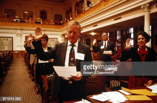 Electoral college, republican vote for president, Austin, Texas, USA : Stock Photo