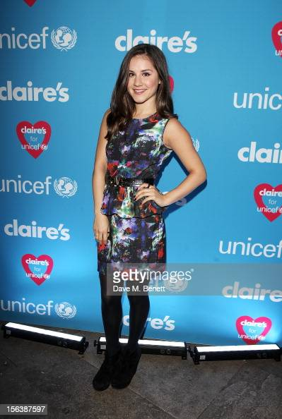 Electra Formosa arrives at a party celebrating the partnership between international fashion retailer Claire's and the world's leading children's...