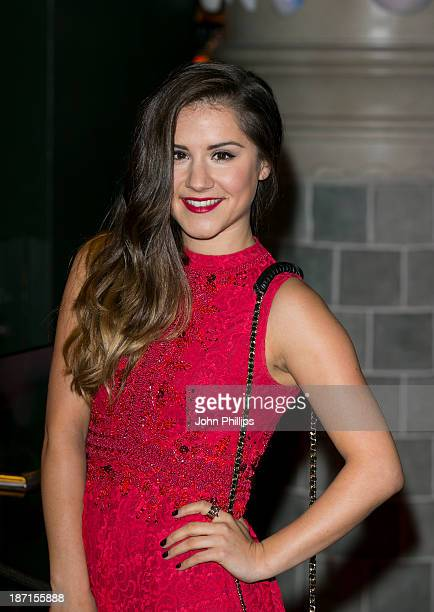 Electra Formosa attends the Disney Store Christmas party at Disney Store on November 6 2013 in London England
