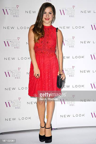 Electra Formosa attends the New Look Winter Wishes Charity Ball at Battersea Evolution on November 6 2013 in London England