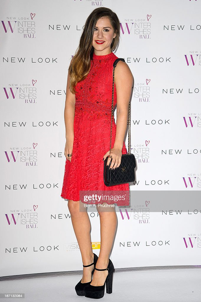 <a gi-track='captionPersonalityLinkClicked' href=/galleries/search?phrase=Electra+Formosa&family=editorial&specificpeople=7460158 ng-click='$event.stopPropagation()'>Electra Formosa</a> attends the New Look Winter Wishes Charity Ball at Battersea Evolution on November 6, 2013 in London, England.