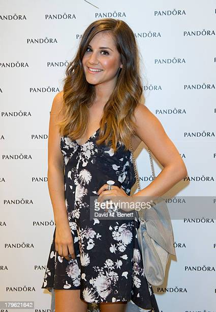 Electra Formosa attends the Pandora Oxford Street store launch at Pandora Oxford Street on September 5 2013 in London England