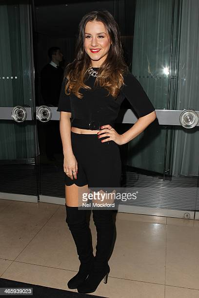Electra Formosa attends the 'Tanya Burr by eye CANDY' launch at The Sanderson Hotel on January 30 2014 in London England