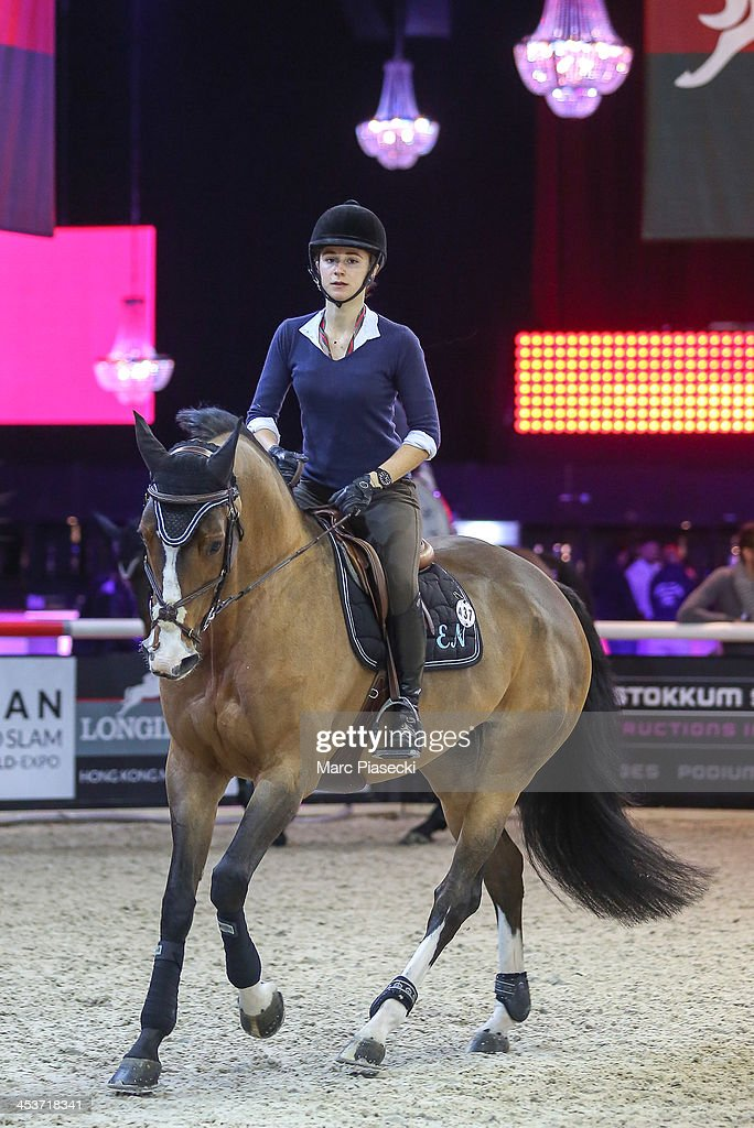 Electra Niarchos attends the 'Gucci Paris Masters 2013' at Paris Nord Villepinte on December 5, 2013 in Paris, France.