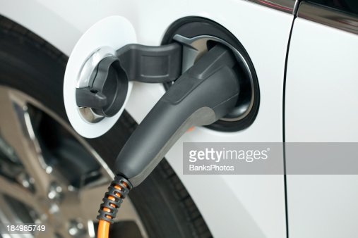 Electric Car Charging Plug and Receptacle