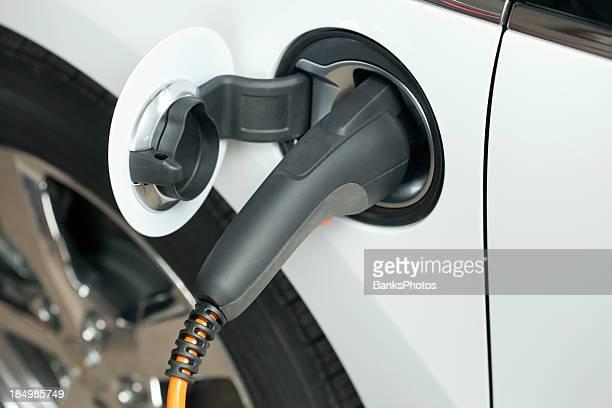 Elektroauto aufladen Stecker, Steckdose