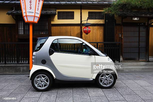 Electric car, Gion district.