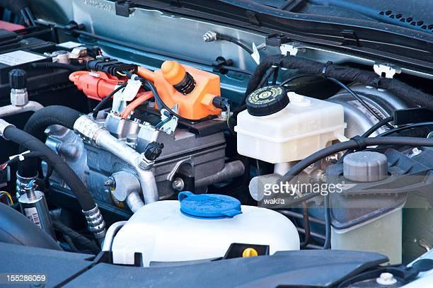 electric car inside