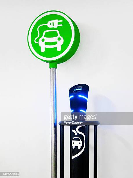 Electric car recharging unit