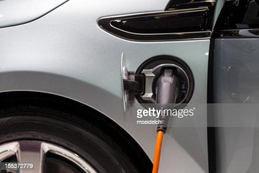 Electric car/vehicle recharging