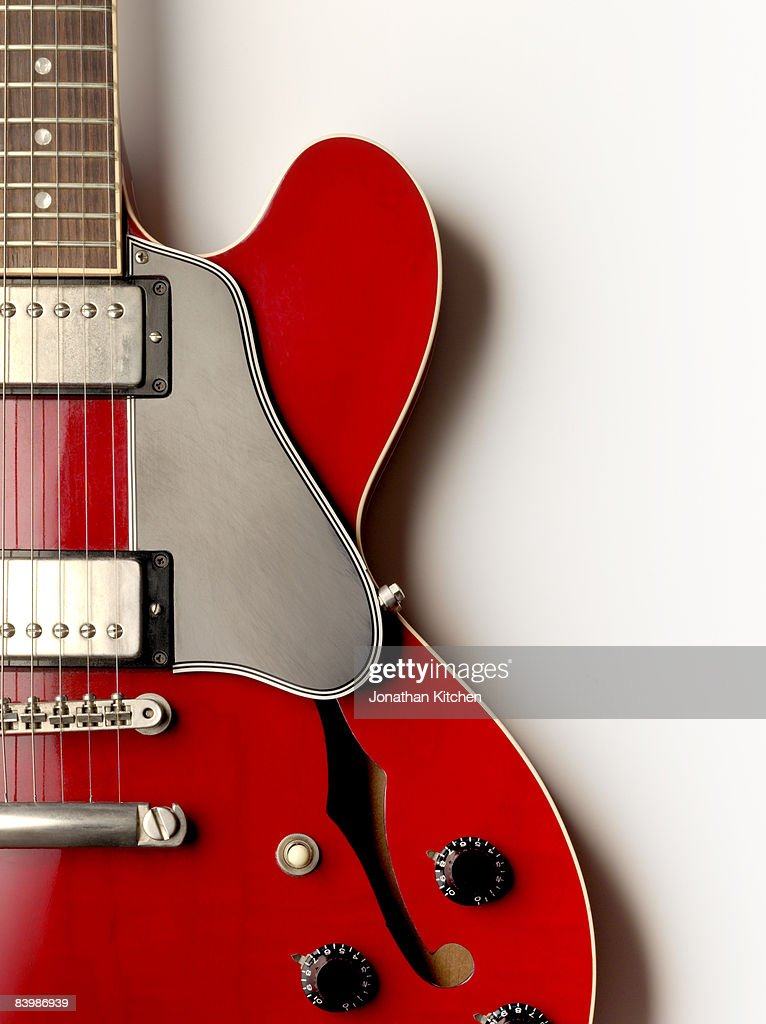 Electric Guitar from above