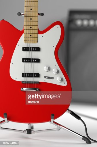 Electric Guitar : Stock Photo