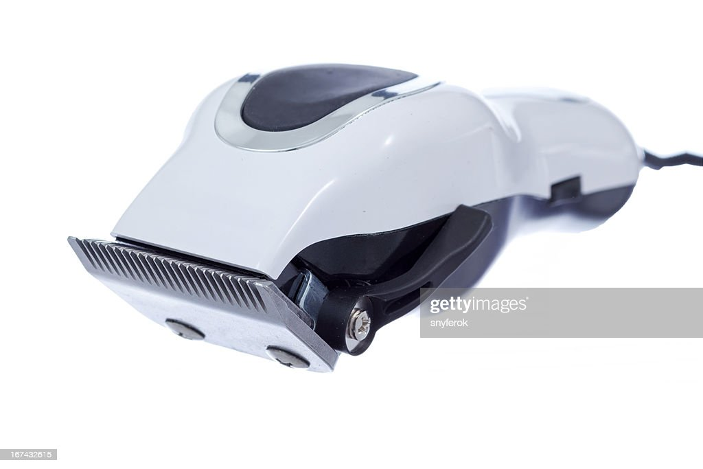 Electric hair trimmer : Stock Photo