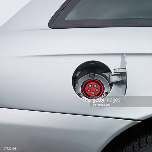 Electric plug for electric car