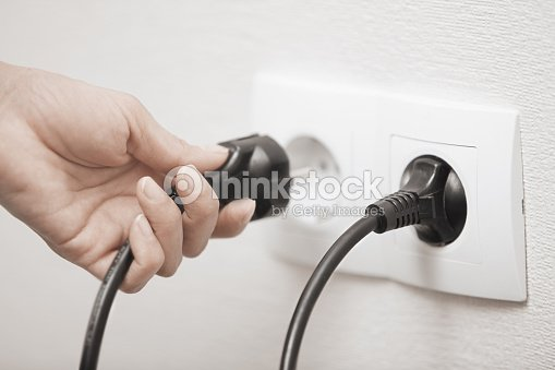 Electric plug : Stock Photo