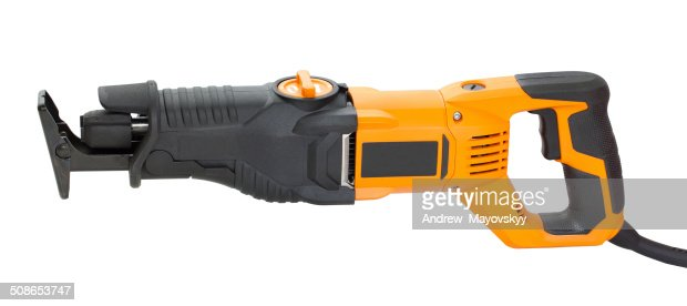 Electric saw for home handyman use : Stock Photo