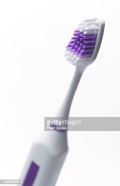 Electric tooth brush with copy space