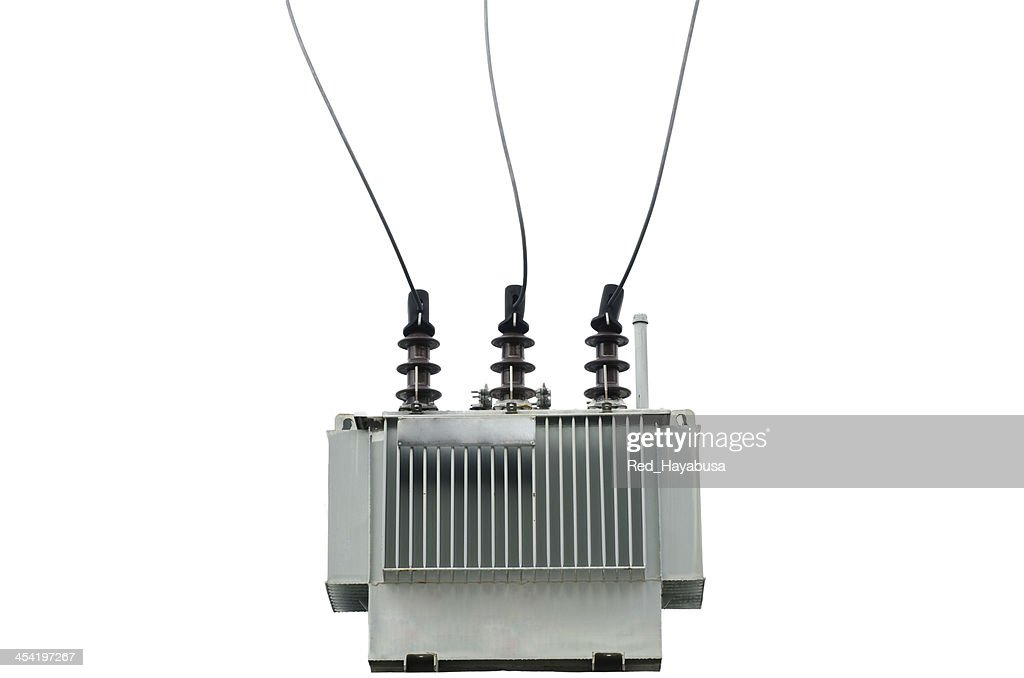 electric transformer : Stock Photo
