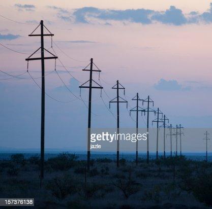 Electric Utility Poles