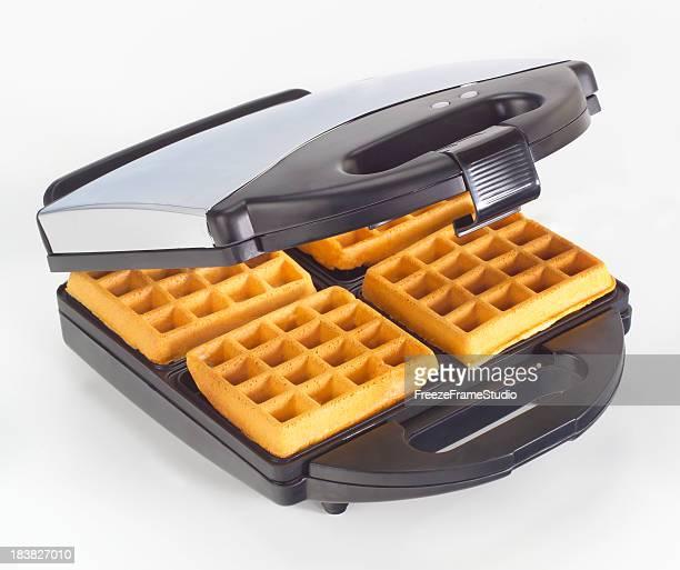 Electric Waffle Maker ~ Waffle iron stock photos and pictures getty images
