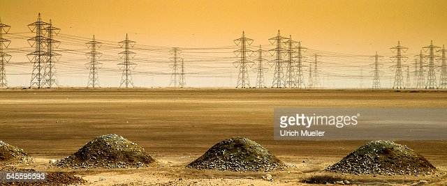 Electrical Desert : Stock-Foto