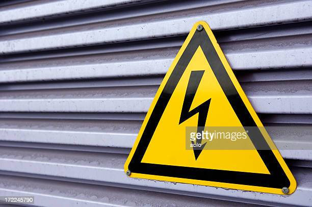 Electrical power sign
