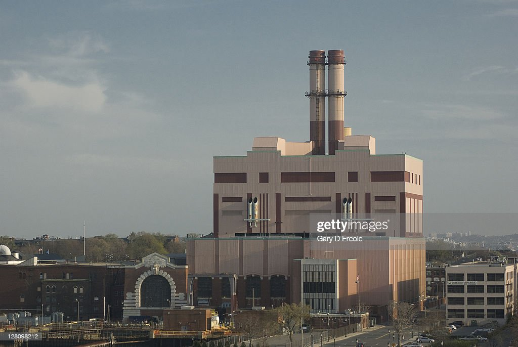 Electrical power station, South Boston, MA