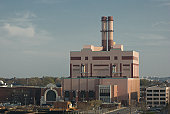Electrical power station, South Boston, MA