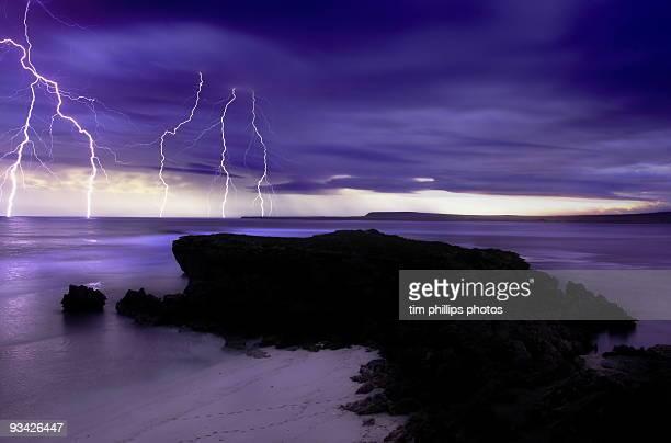Electrical storm lightning australia