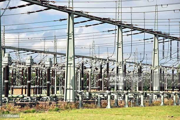 電気 substation