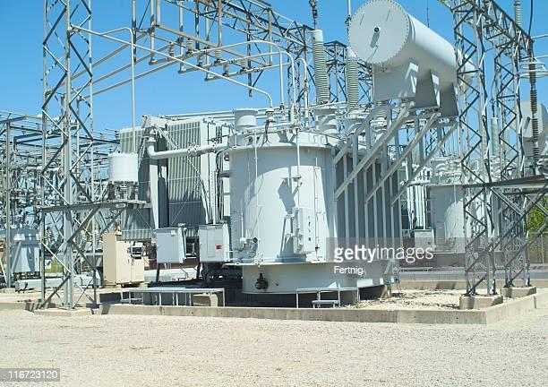 Electrical transformer sub-station