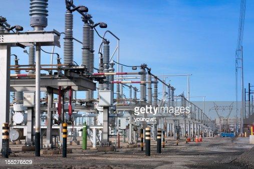 Electrical transmission substation