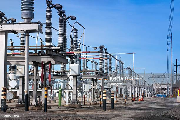 Electrical transmission substation