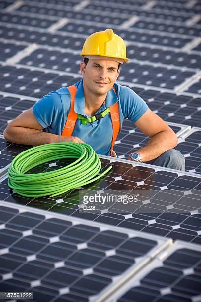 電気技師のポートレート