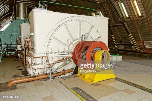 Gerador de Eletricidade : Foto de stock