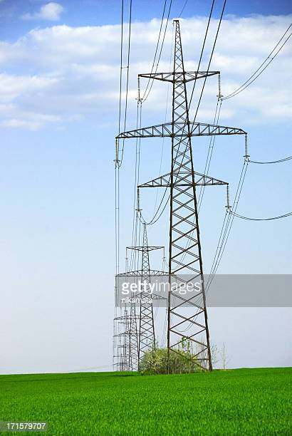 Electricity Pylons in the Countryside